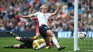 ENGLAND VS MONTENEGRO 9-0: Goals and highlights Women