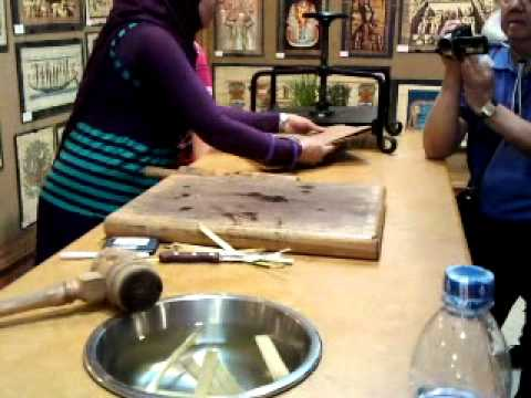Ancient Egyptian Glass Making Demonstration