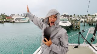 Why we Chose to Sail during Hurricane Season! (Hurricane Gordon & Florence)