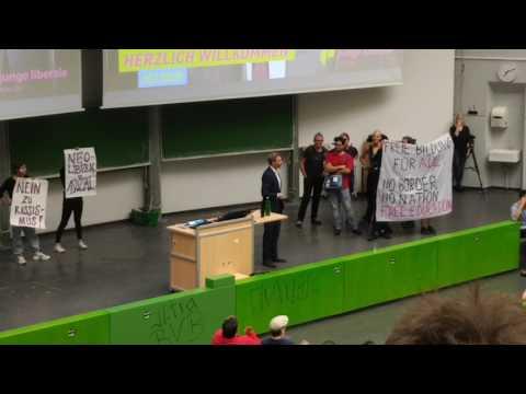 Christian Lindner an der RUB: Zwischen tosendem Applaus und lautstarkem Protest!