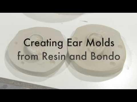 FX Molding With Bondo Putty and Fiberglass Resin Part 2 2