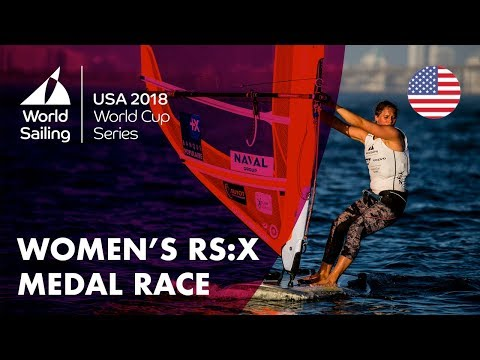 Full Women's RS:X Medal Race - Sailing's World Cup Series | Miami, USA 2018