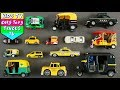 Taxi And Auto Rickshaw For Kids Children Babies Toddlers | Street Vehicles | Kids Learning | Kids TV