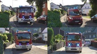 [Großbrand in Schule] Großeinsatz für die Feuerwehr Burbach