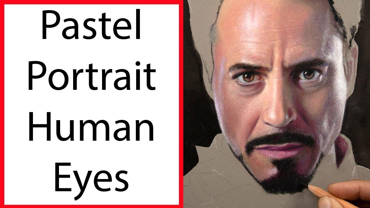 Pastel Painting Portrait