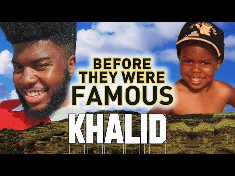 KHALID  Before They Were Famous  Location  American Teen