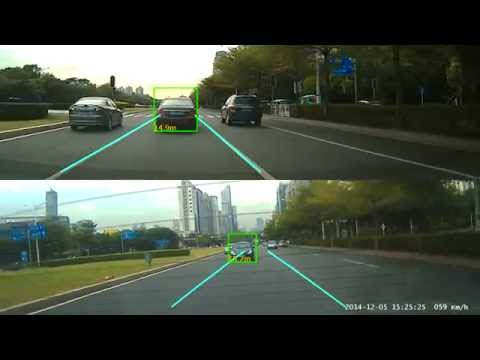 Blackview G9WB Dual Cam 360 Anti-collision License Plate Recognition Feature