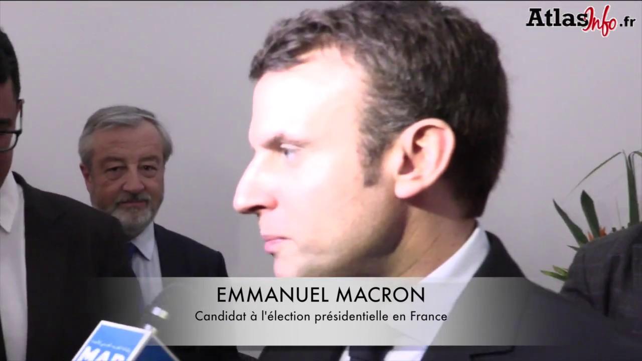 Emmanuel Macron au Pavillon Maroc au salon du livre de Paris  YouTube