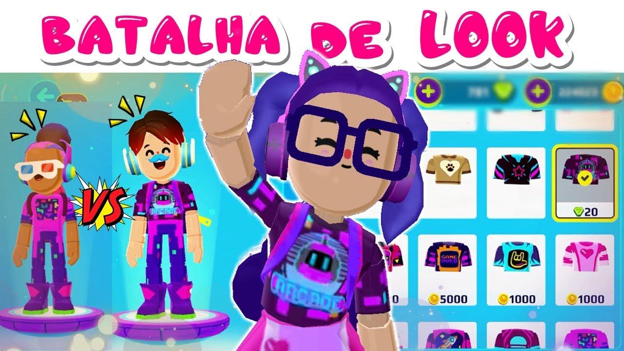 BATALHA DE LOOK COM OS NOVOS ACESSÓRIOS_ Atualização PK XD