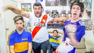 River Plate 3 Boca 1 | Libertadores Cup 2018 Final | Friends Reactions