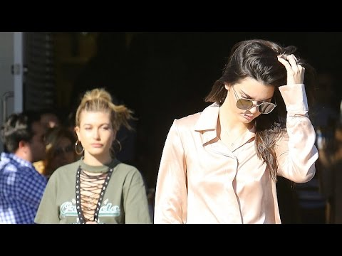 Kendall Jenner And Hailey Baldwin Hit Fred Segal