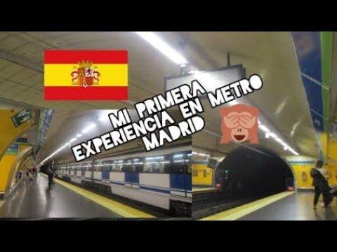 Metro MADRID🇪🇸 (Nuestra Primera Experiencia En Metro)