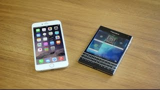 iPhone 6 Plus vs. BlackBerry Passport - Dogfight!