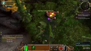 World of Warcraft: Cataclysm Gameplay - Bear Logging