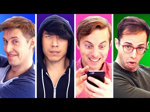 Thumbnail: The Four Types Of Friends You Have • Try Guys
