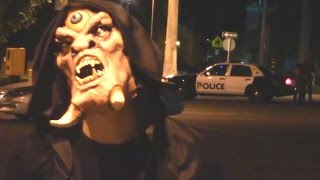 CYCLOPS SCARE PRANK GONE WRONG!! (POLICE CALLED)