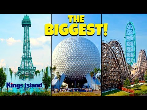 Top 10 Biggest Theme Parks in North America!