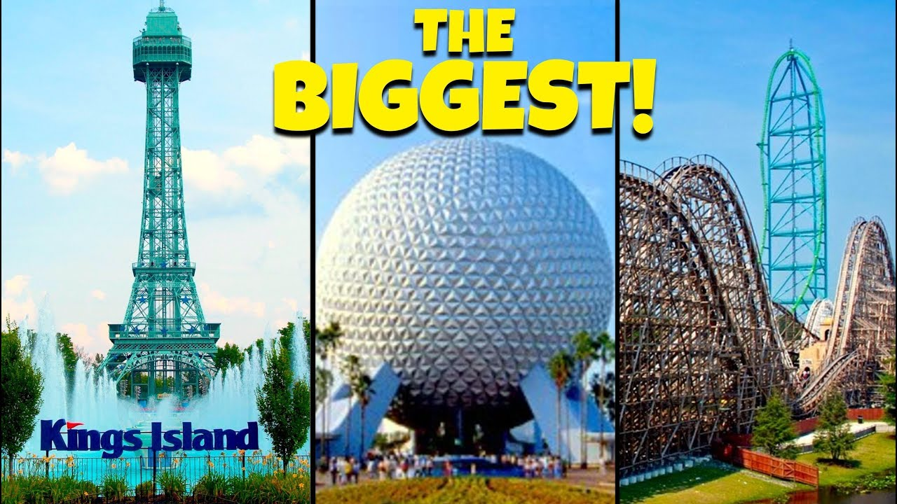 Top 10 Biggest Theme Parks in North America! - YouTube