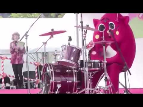 Costumed Person Destroys The Drums At Children's Music Concert - Nyango Star - Repost