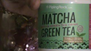 Green Tea Kratom Frappuccino