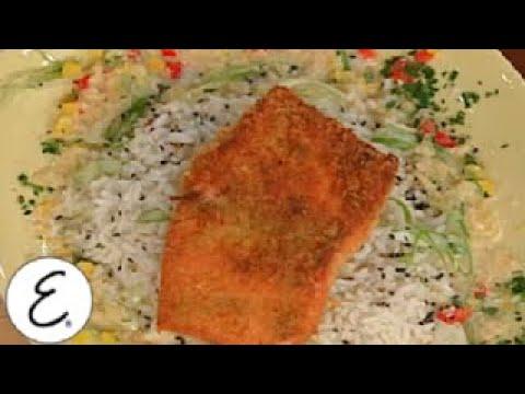 Wasabi Crusted Salmon | Emeril Lagasse