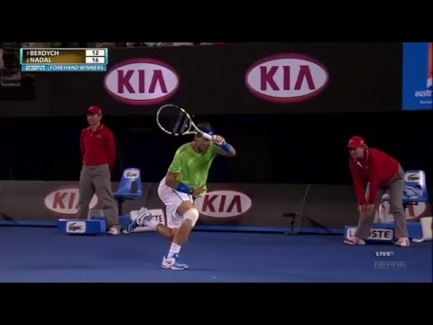 Nadal vs Berdych - Australian Open 2012 Highlights