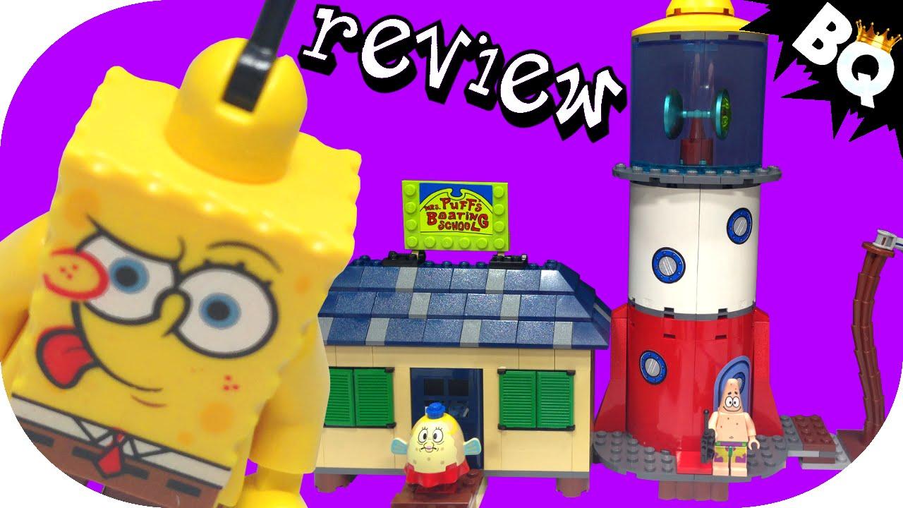 Lego Mrs Puffs Boating School 4982 Spongebob Squarepants Review