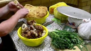 """Печной комплекс """"Вилледж"""" , приготовление шашлыка,цыплят аля гриль, и блюдо в глиняных горшочках."""