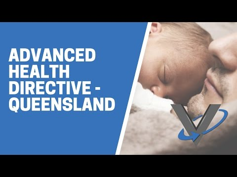 Advanced Health Directive QLD
