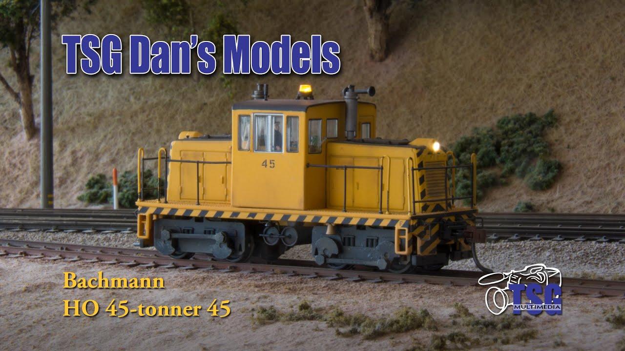Ho Scale Dcc Bachmann 45 Ton Switcher Dans Models Youtube Model Train Mountain Scenery Also Wiring Diagrams On