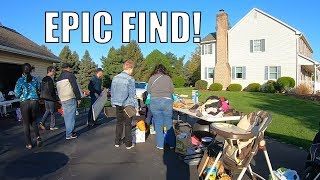 You Won't Believe This Garage Sale Find...