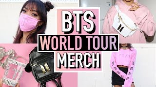 5 DIY BTS (BANGTAN BOYS) WORLD TOUR MERCH! 방탄소년단 | BTS | Nava Rose