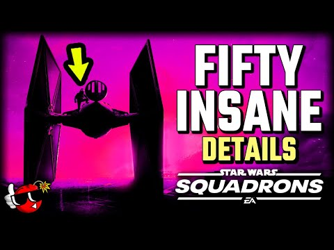 50 INSANE DETAILS You Need to Know - Star Wars Squadrons |