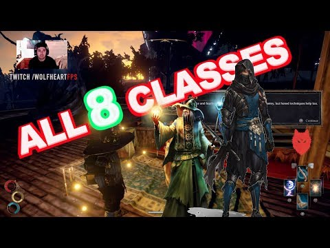 All Classes In Outward! EXPLAINED || Skill Trees