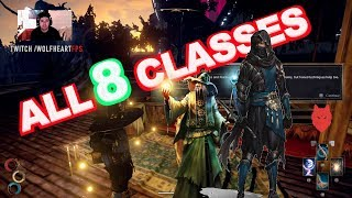 All Classes In Outward Explained Skill Trees Sniper shot skill and health upgrade. youtube