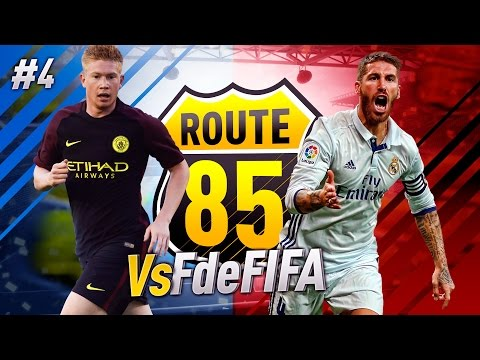 ROUTE 85 - 4TOS de FINAL (Vuelta) VS FdeFIFA!!! FIFA 17 #4
