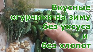 Самый вкусный и простой рецепт засолки огурцов холодным способом