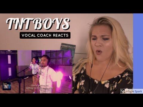 VOCAL COACH |  REACTION |TNT Boys - Flashlight