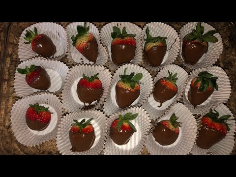 HOW TO MAKE CHOCOLATE COVERED STRAWBERRIES UNDER $5
