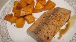 Cooking So Easy - Sweet Potato & Salmon