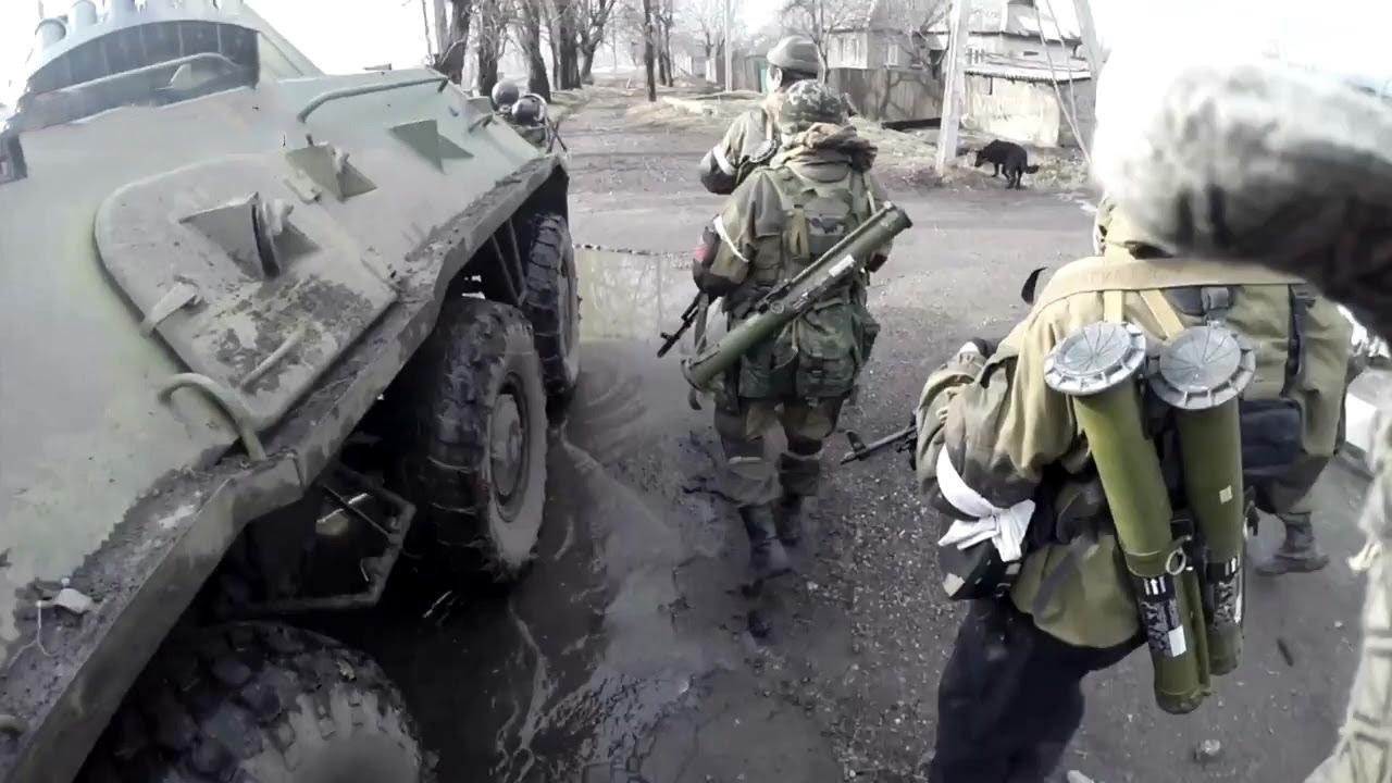 18+ Полная зачистка Углегорска. Спецоперация ополчения. Ополчение Новороссии.