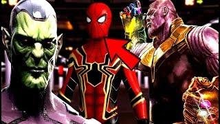 Avengers Infinity War Thanos True NAME Reveal, Skrulls Reveal? & Avengers 4 Title TEASE!?