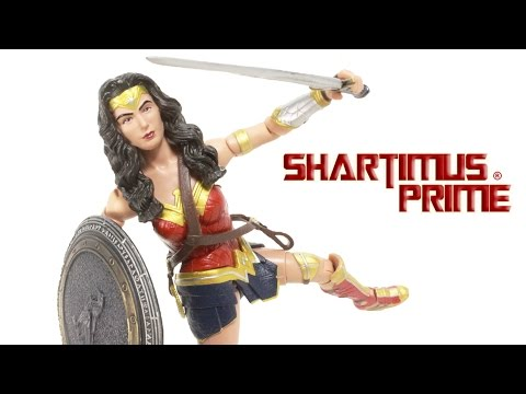 DC Multiverse Wonder Woman Batman v Superman Dawn of Justice Toy Movie Action Figure Review