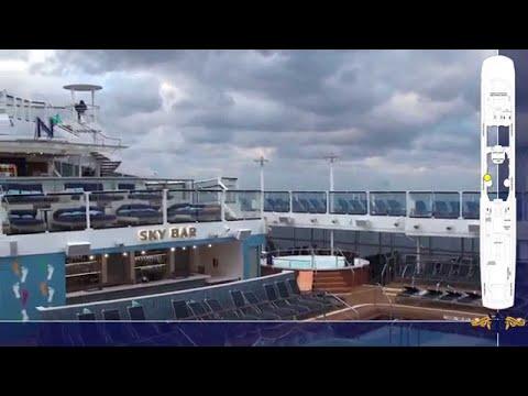 Quantum of the Seas: Complete Ship Tour - Part 2: Upper Decks