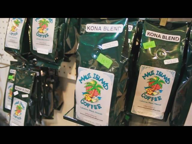 Maui Island Coffee at The Wharf Cinema Center - Maui Hawaii