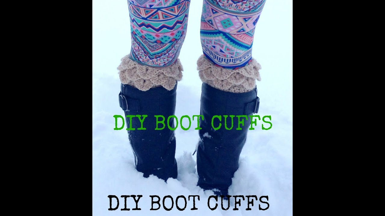 How to crochet boot cuffs youtube how to crochet boot cuffs bankloansurffo Images