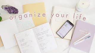 How to Be More Organized & Productive | 10 Habits for Life Organization thumbnail