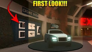 Jailbreak Crime Boss Gamepass First Look At The Features (Roblox Jailbreak Boss Gamepass)