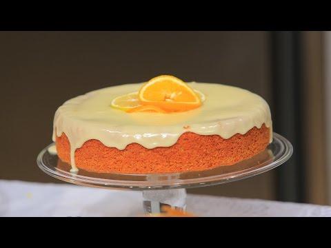 كيكة البرتقال بالليمون  | سالي فؤاد