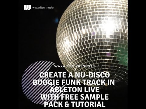 ABLETON LIVE 8 How to produce Nu-Disco Boogie Funk Beginners Tutorial part one march 2012.wmv